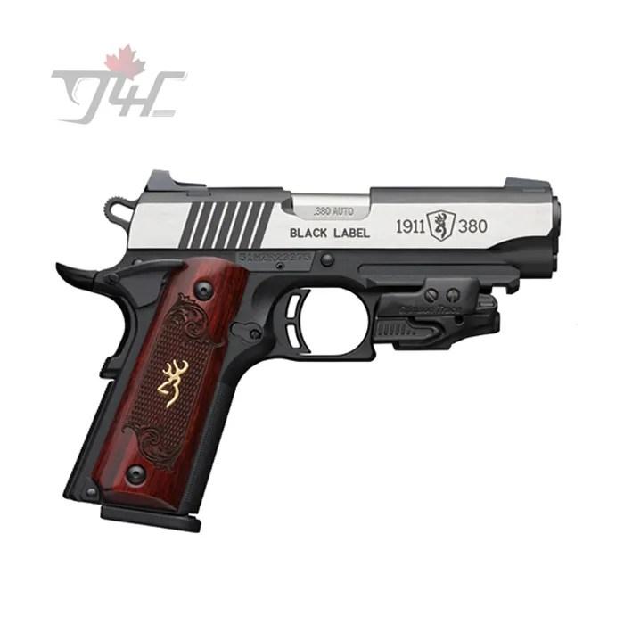 Browning 1911-380 Black Label Medallion Laser
