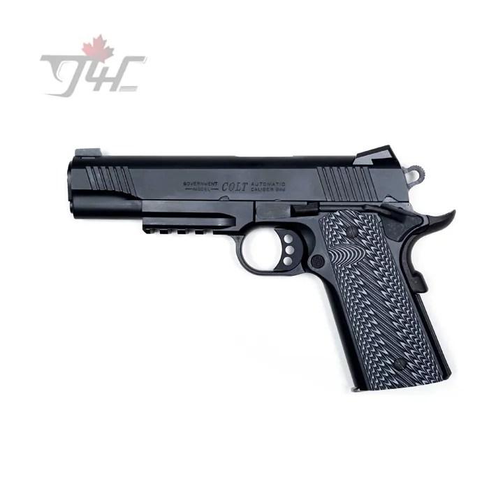 Colt 1911 Rail Gun 9mm 5 BRL Cerakote