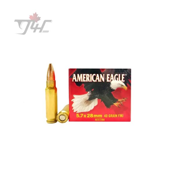Fed. American Eagle 5.7x28mm 40gr. FMJ 50rds