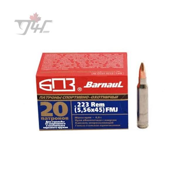 Barnaul .223REM 62gr. FMJ 20rds