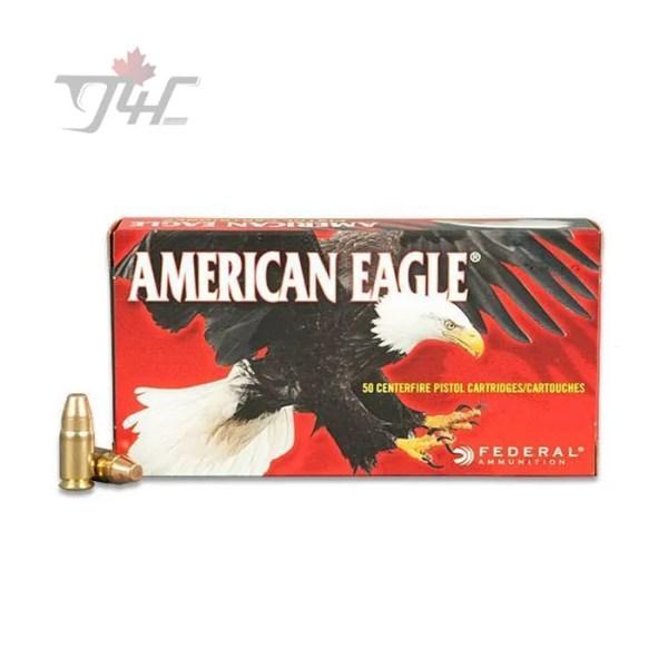 Fed. American Eagle .357Sig 125gr. FMJ 50rds
