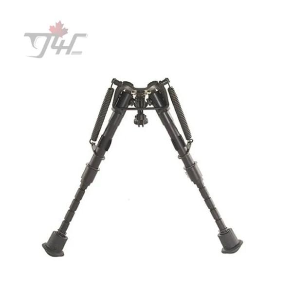 Harris Series 1A2 Bench Rest Bipod 6'' - 9'' w/ Leg Notch & Swivel Stud Mount