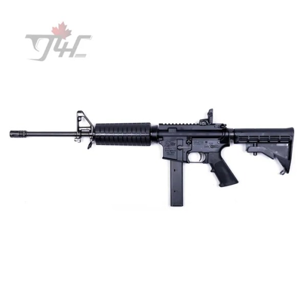 "Colt AR-15 Carbine 9mm 16"" BRL Black"