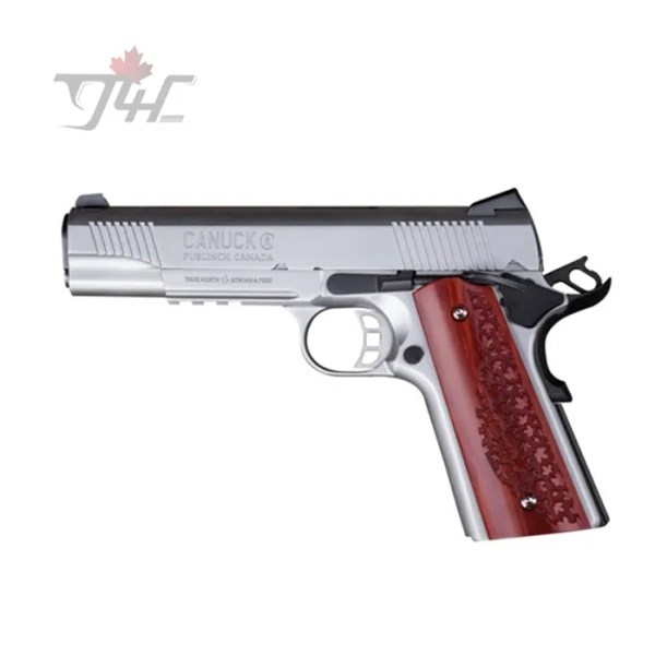 "Canuck 1911 9mm 5"" BRL Stainless"