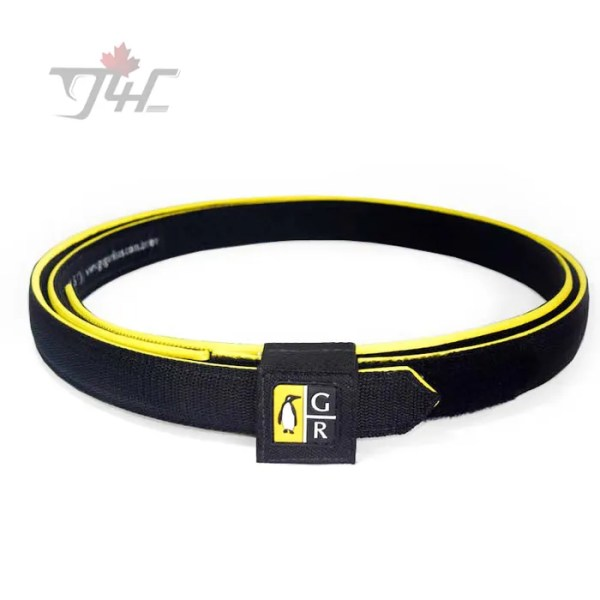 Guga Ribas Competition Belt Black/Yellow