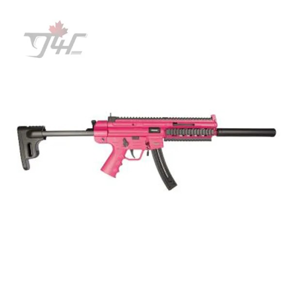 """German Sport GSG-16 .22LR 16.25"""" BRL Pink"""