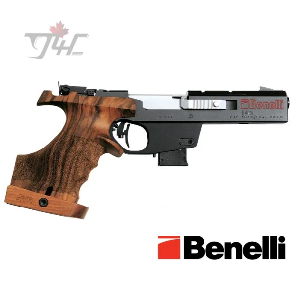 """Benelli MP90S World Cup .32 S&W Long 4.5"""" Black/Wood"""