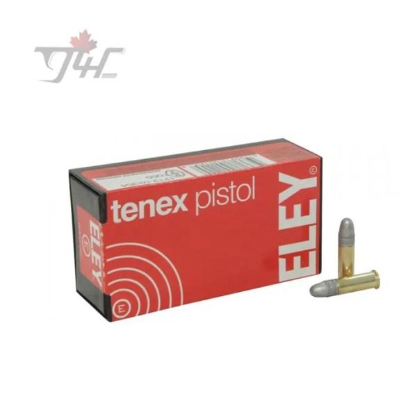 Eley Tenex Pistol .22LR 40gr. 50rds