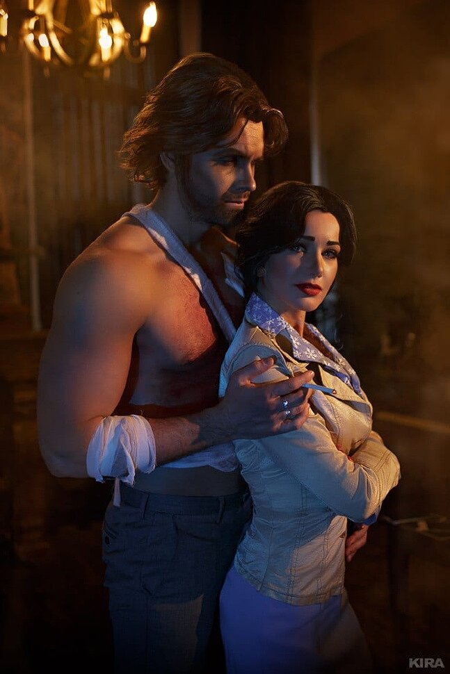 Russian Cosplay Snow White Bigby Wolf The Wolf Among Us By