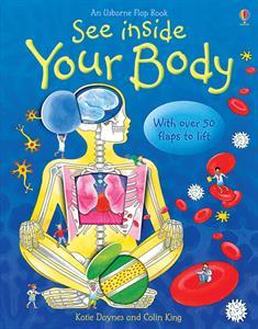 Homeschool Kindergarten Curriculum - Usborne See Inside Your Body