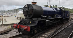 King Edward II on Dartmouth Steam Railway