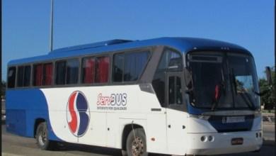 Foto de Ônibus é assaltado por 8 bandidos na Estrada de Cujupe