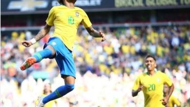 Foto de Brasil bate a Croácia em jogo amistoso