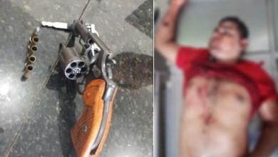 Foto de Pistoleiro morre à bala em Viana-MA