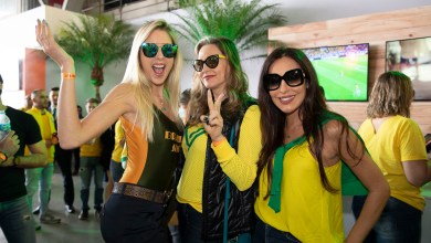 Foto de GOLFEST reúne torcedores em festa no hangar