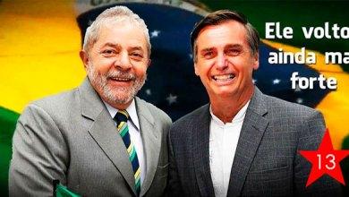 Foto de Pelo quarto mês consecutivo, Bolsonaro e Lula são os mais citados no Twitter