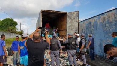 Foto de Polícia apreende contrabando em Carutapera-MA