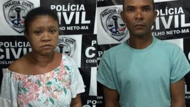 Foto de Casal condenado a 13 anos é preso