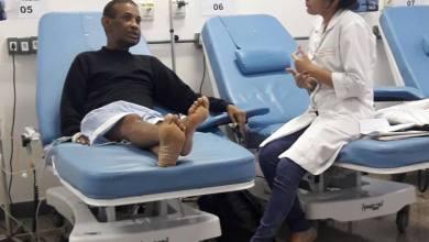 Foto de Apresentador Osvaldo Souza volta a fazer quimioterapia