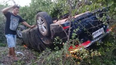 Foto de Radialista Domingos Ribeiro sofre acidente em Araioses-MA