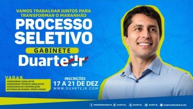 Photo of Deputado Duarte Jr abre seletivo para contratar Assessores