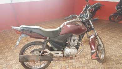 Foto de Moto roubada em Palmeirândia-MA é apreendida em Bequimão-MA