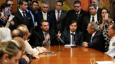 Foto de Bolsonaro se viu obrigado ir à Câmara Federal