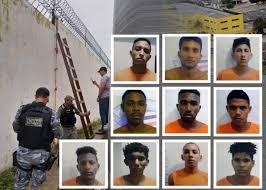 Foto de Dos 10 que fugiram de Pedrinhas, um já foi recapturado