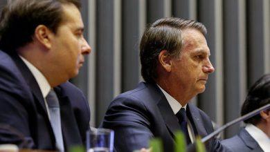 Foto de Namoro de Bolsonaro com Rodrigo Maia vai dar casamento