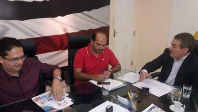 Photo of Prefeito de Alcântara participa de reunião com o Secretário de Segurança do Estado