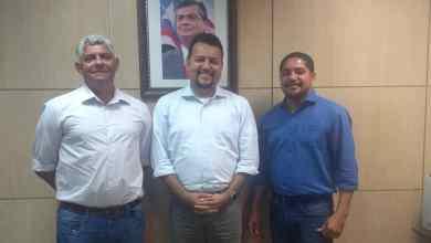 Foto de Zé Martins e Zé Inácio reúnem com Secretário de Estado sobre MA-211