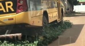 Photo of Educação de Pinheiro sendo tratada como lixo