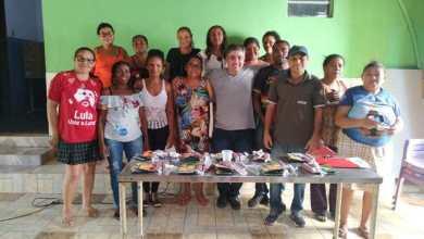 Foto de Agricultores familiares de Bequimão recebem curso de horticultura