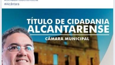 Foto de Roberto Rocha não comparece para receber Título de Cidadão em Alcântara-MA