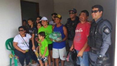 Foto de Projeto Sonho Real e Polícia Militar de Bequimão-MA realizam Ação Social