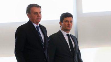 """Foto de """"Não preciso fritar ministro para demitir"""", diz Bolsonaro sobre Moro"""