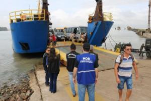 Photo of Ferry boats reduzem o número de viagens pela metade