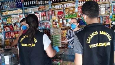 Foto de Vigilância Sanitária fiscaliza comércios em Peri-Mirim