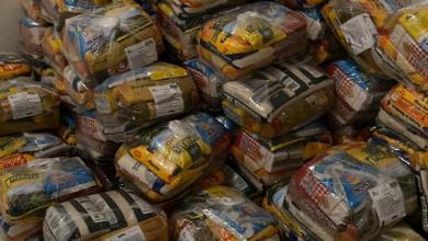 Foto de Com apoio do Instituto ISA, vereadora Fátima Araújo entrega máscaras e cestas básicas