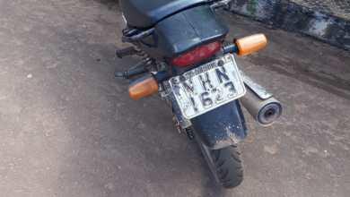 Foto de Guarda Municipal de Bequimão apreende moto roubada