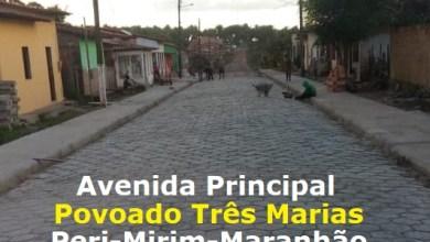 Foto de Prefeitura de Peri-Mirim pavimenta rua do povoado Três Marias