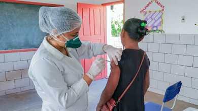 Foto de Em Bequimão-MA 107,65% do público alvo foi imunizado contra Influenza
