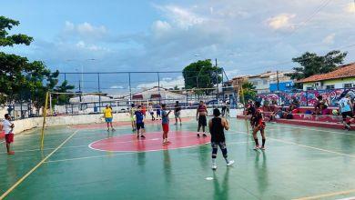 Photo of Campeonato de Vôlei está acontecendo na Praça da Juventude no João de Deus