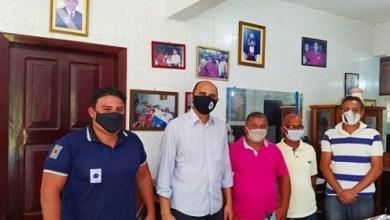 Foto de João Martins reúne com representantes de pescadores artesanais de Bequimão-MA