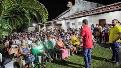 Foto de Imagens mostram comparação das reuniões entre Neto Evangelista e Rubens Jr