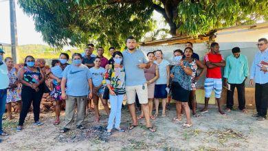 Foto de Fátima Araújo reúne com moradores da Vila Santo Antônio, na zona rural de São Luís