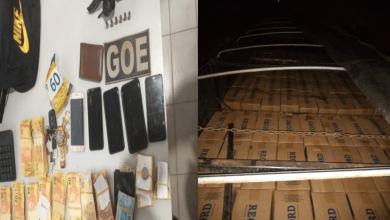 Foto de Em Bequimão, polícia desbanca quadrilha de contrabando de cigarros