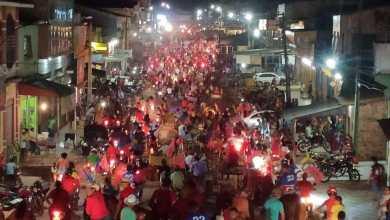 Foto de VIANA-MA: Carreata de Carrinho Cidreira mostra que o povo não quer mais Magrado