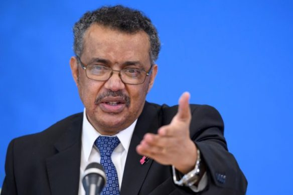 Candidate for the WHO director general position Tedros Adhanom Ghebreyesus   Fabrice Coffrini/AFP via Getty Images