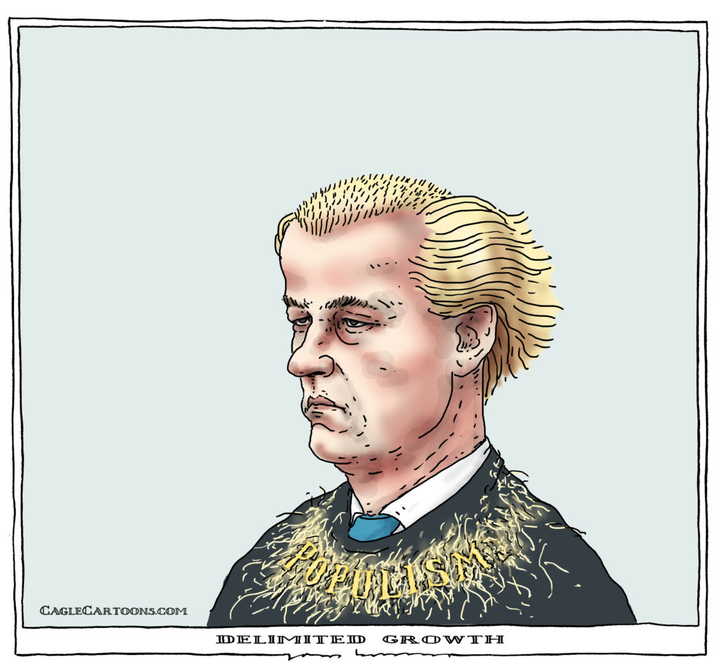 Image result for wilders election defeat cartoons